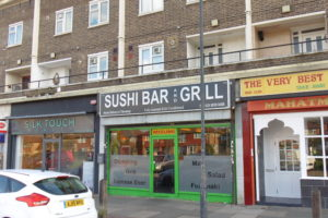 SUSHI BAR & GRILL IN ELTHAM SOLD
